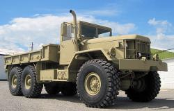 M813a1 military cargo truck built by am general