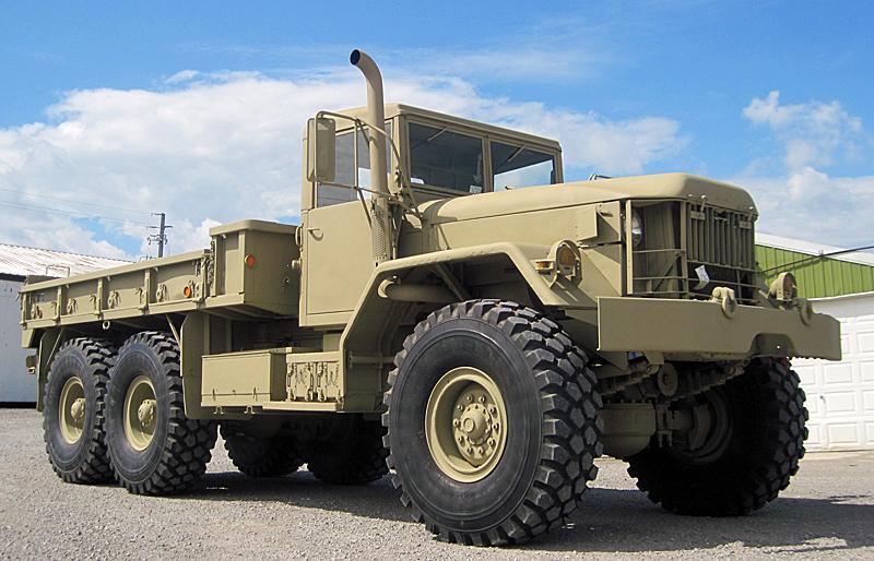 6x6 Wheeled Rigid Vehicles Heavy