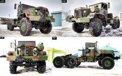 M818 6x6 5 ton military tractor truck tr 500 52 1 b sans titre fusion 05