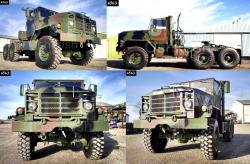 M931a2 6x6 5 ton military tractor truck tr 500 58