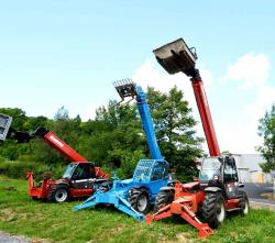 Manitou telescopic froklift