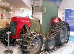 Massey ferguson tractor of antarctic expedition 1958