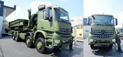 Mercedes arocs 8x8 truck 1