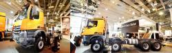 Mercedes benz arocs 8x8 truck