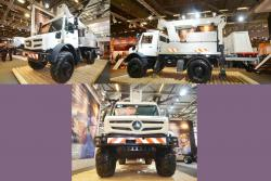 Mercedes benz unimog 4x4 high mobility
