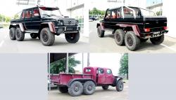 Mercedes chevrolet 6x6 from vk com