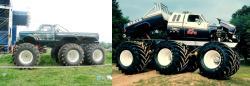 Monster trucks 6x6