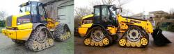 Moorend conversion of jcb telehandler