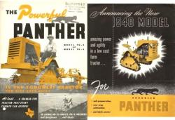 Panther tractor 1948