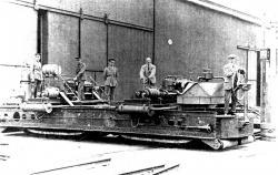 Pedrial landship prototype 1915
