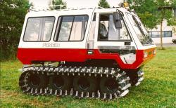 Poncin minibus for snow