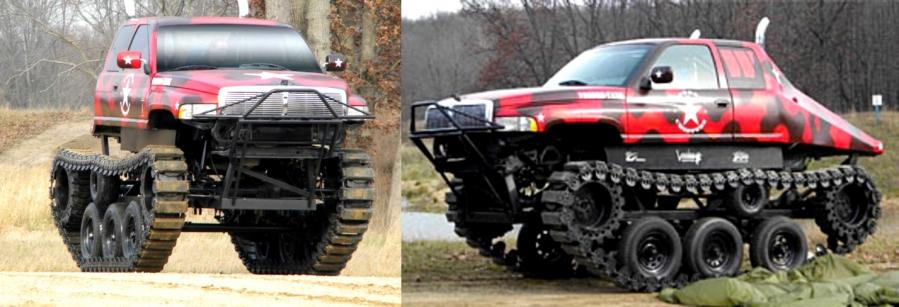 Tracks For Vehicles >> Two Tracks Rigid Vehicles Heavy
