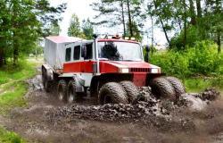 Raf bel arktik truck