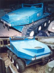 Rana 8x8 amphibian 1980