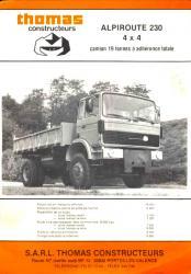 Renault modele babyroute thomas 4x4 diesel 2