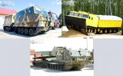 Russian tracked articulated vehicles 2