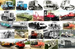 Russian tracked vehicles