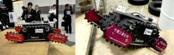 Sakura rescue robot