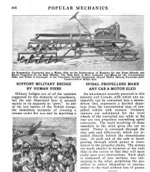 Screw vehicle conversion 1919