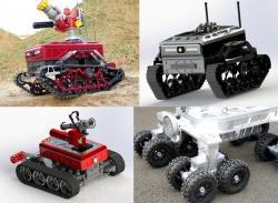 Security robots of tedron