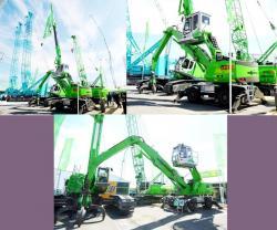 Sennebogen 821 e series crane