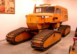 Sno cat for south pole