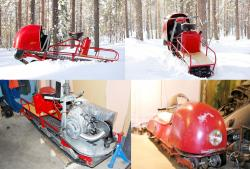 Snoped snowmobile 2