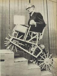 Stair climbing chair