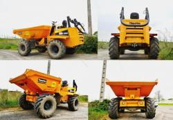 Thwaites articulated dumper 4x4