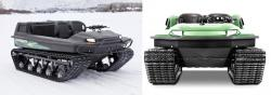 Tinger tracked vehicle