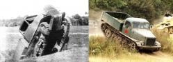 Tracked trucks of the 50s