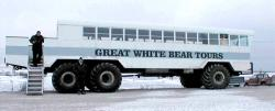 Tundra buggy bus