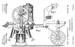 Us318194 walking machine mcmurray 1885
