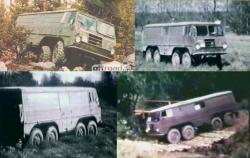 Volvo 8x8 4230 1967