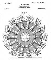 Walking wheel james c anderson 1899