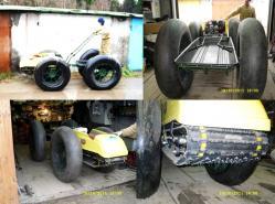 Wheel cum track vehicle 2011