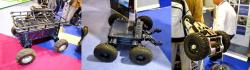 Wheeled robots of tecdron 1