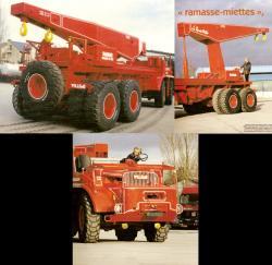 Willeme cg 8x4 truck crane 3