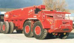 Willeme cg 8x4 truck crane