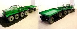 Zis e134 8x8 and 4x4 trailer