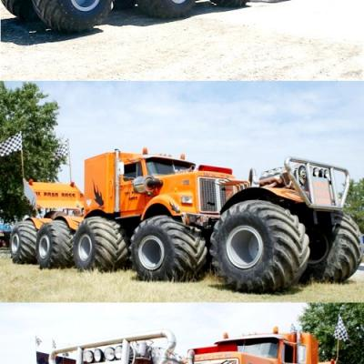 8X8 AND MORE WHEELED ARTICULATED VEHICLES, HEAVY