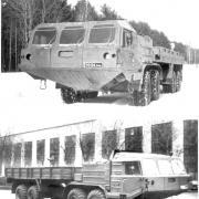 BAZ-69502 and BAZ-6954, 8x8, 1990
