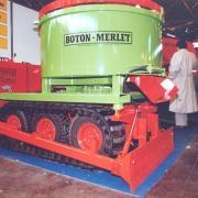 Boton-Mermet Mixer on tracks