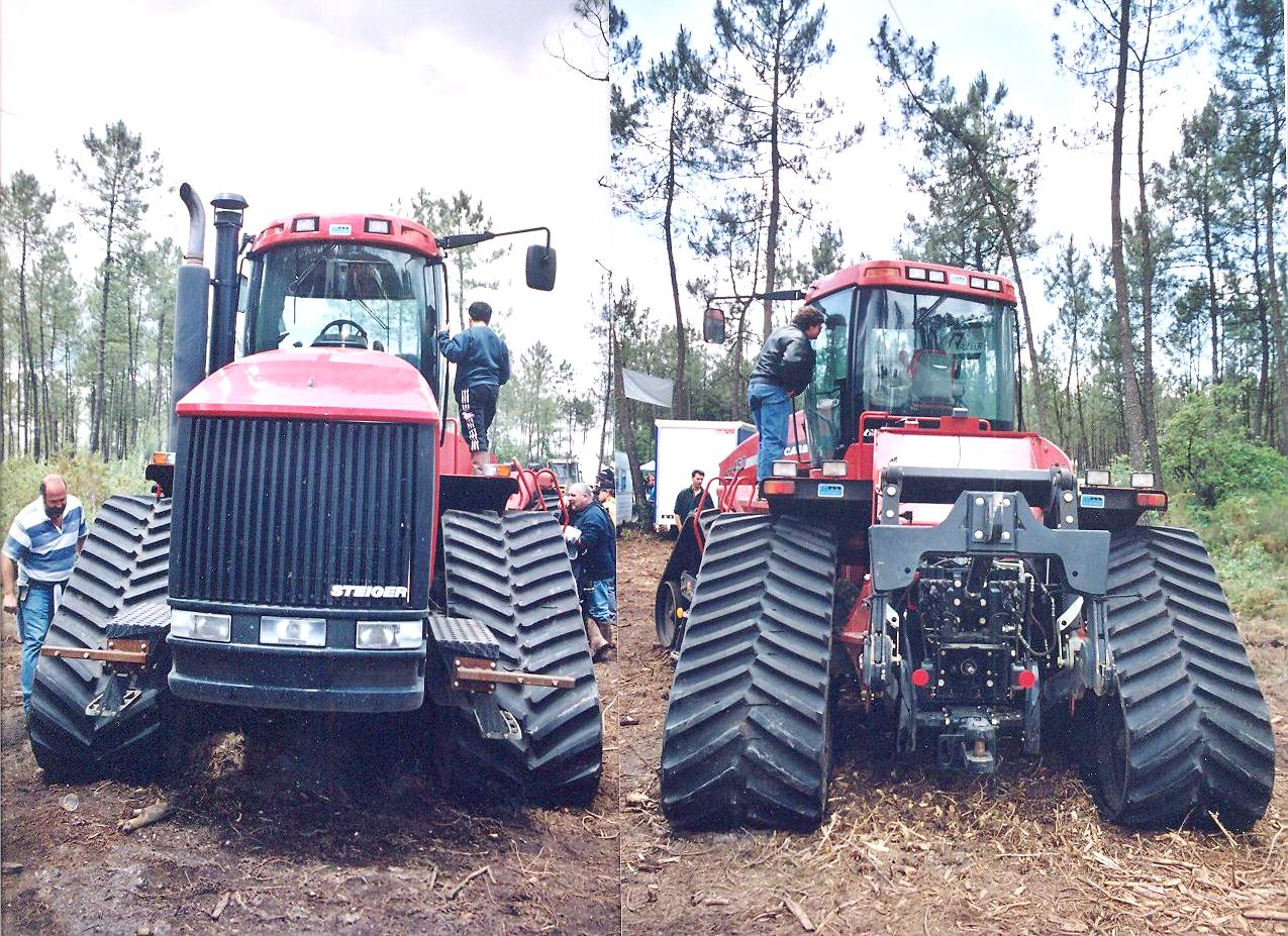 Case IH with Grecav tracks 2