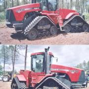 Case IH with Grecav tracks