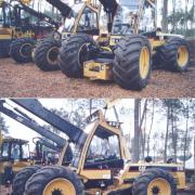 Caterpillar 550 Harvester 4x4