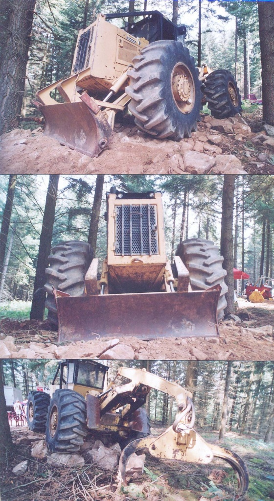 Caterpillar Grapple skidder