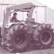 County 1124 tractor