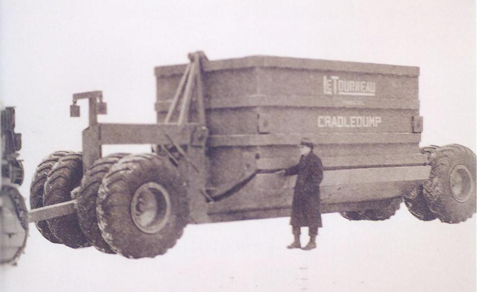 Cradle Dump Letourneau, 1935