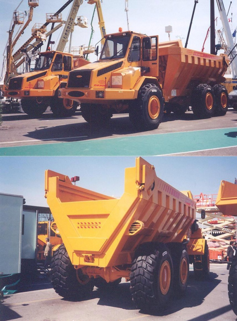 DDT Engineering 630 B 6x6 Dumper